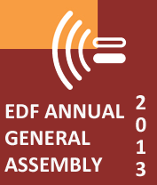 EDF Annual General Assembly 2013 logo