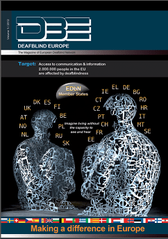 Deafblind Europe Magazine # 01 Cover