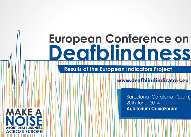 European Conference on Deafblindness logo