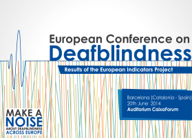 Logo European Conference on Deafblindness