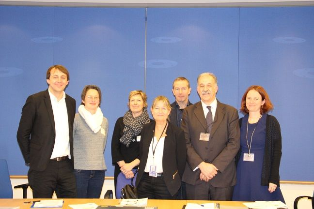 Participants of the meeting held in the European Parliament