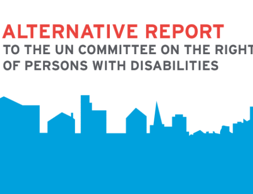 EDF WILL PRESENT THE PRIORITIES OF THE DISABILITY MOVEMENT TO THE UN COMMITTEE