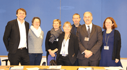 EDbN with Ms Ulvskog meeting in the EP