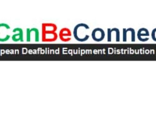 WE CAN BE CONNECTED The European Deafblind Equipment Distribution Program