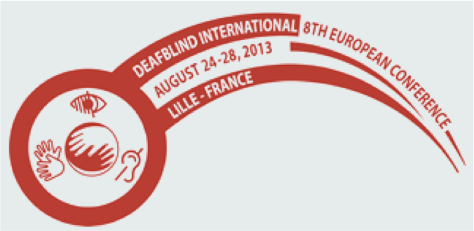 Logo of the 8th European International Deafblind Conference