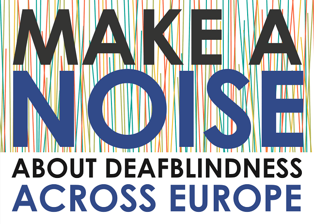 Make a Noise about Deafblindness banner