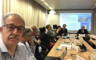 Partial view of the experts in the meeting
